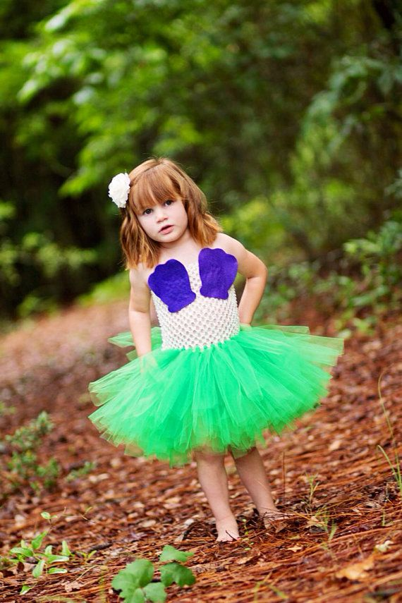 The Little Mermaid - Ariel inspired princess tutu dress - Halloween Birthday Dress up - size newborn 3m 6m 9m 12m 24m 2t 3t 4t 5t costume
