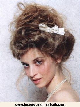 Gibson girl updo vintage romantic hairstyle