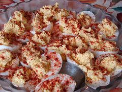 You can't have Thanksgiving without traditional deviled eggs.