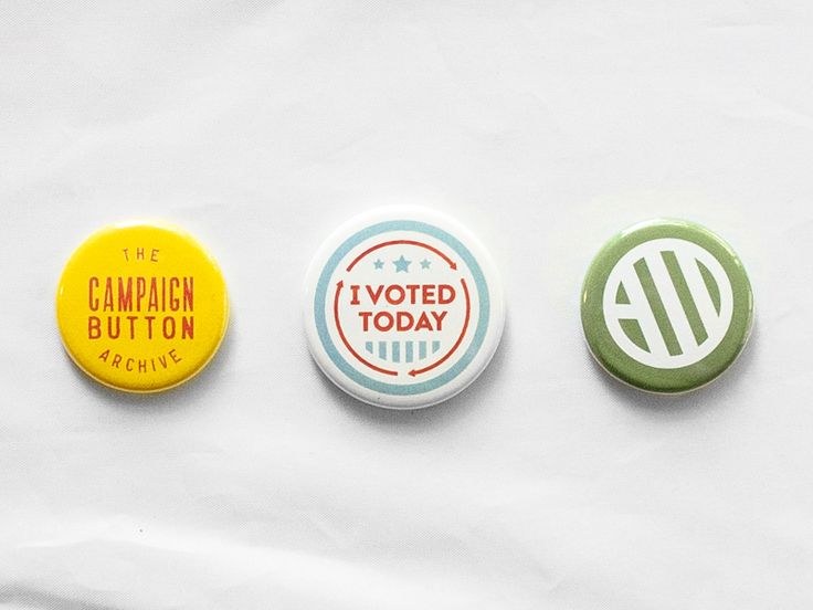The Campaign Button Archive by Cody Peterson  green button
