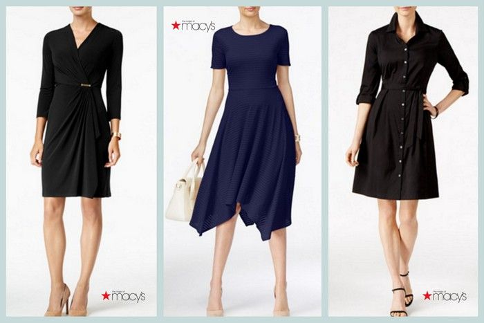 DO: Modest Dresses in Neutral Tones with Sleeves are appropriate funeral attire for women. #loveliveson