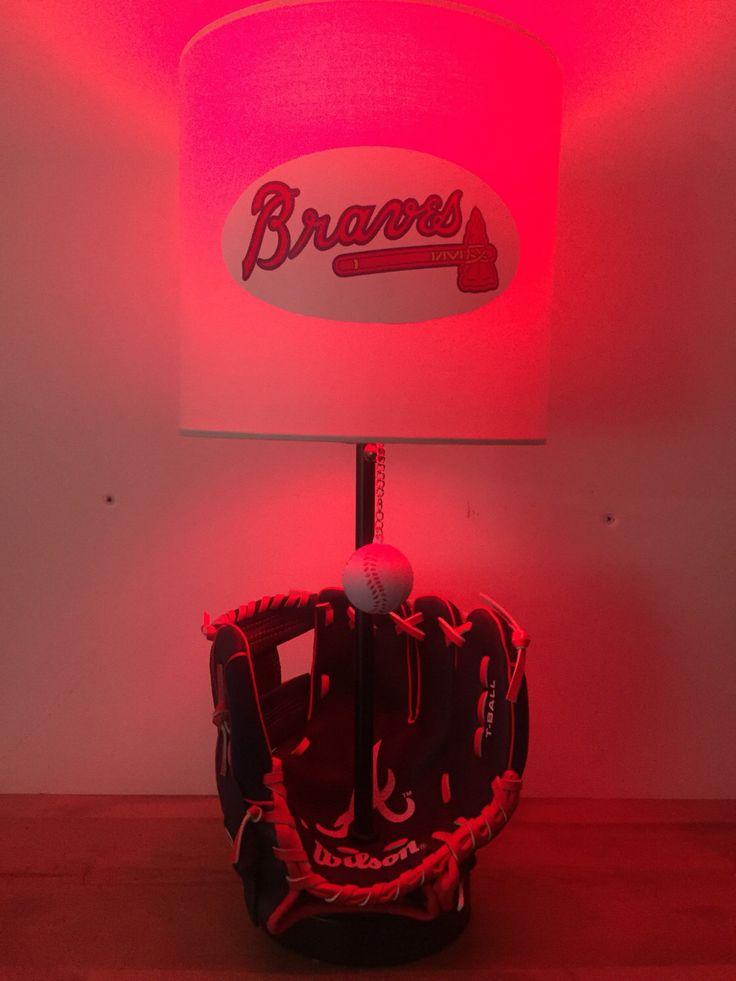 Atlanta Braves Bedroom Decor: 25+ Unique Baseball Lamp Ideas On Pinterest