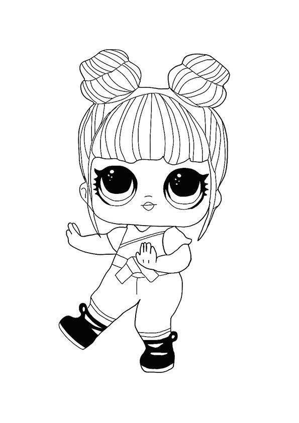 Lol Hairvibes Blackbelt Coloring Page Cool Coloring Pages Free Coloring Pages Disney Coloring Pages