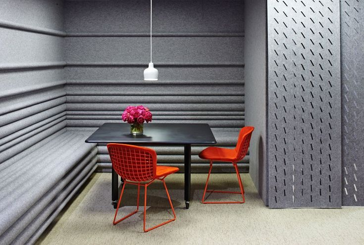 Architecture Research Office Collection by FilzFelt #neocon2014 #knoll #woolfelt