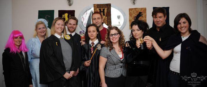 Праздник в стиле Гарри Поттера