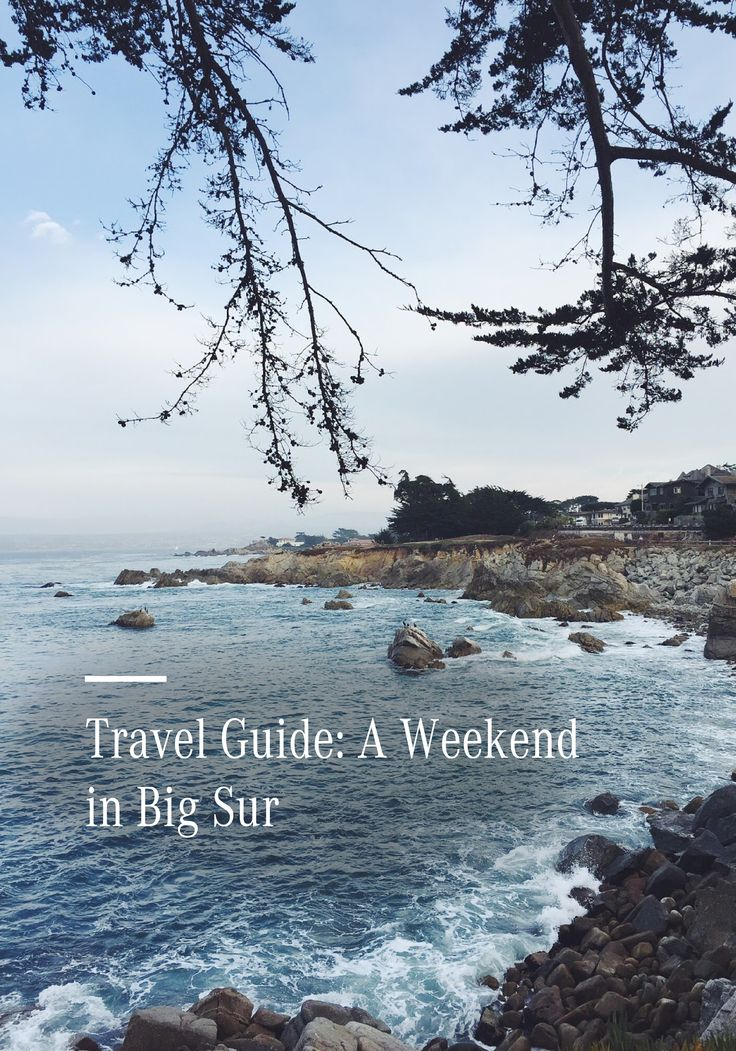 Take a journey through this magical trip on the coast of Big Sur. This travel guide is packed full of must-see places to stay, see, and eat to help you plan your perfect vacation.
