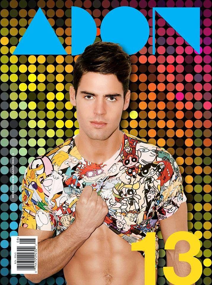 Chad White en portada de ADON Magazine