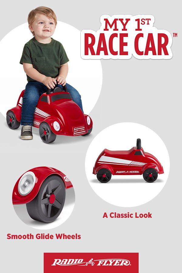 My 1st Race Car Radio Flyer Ride On Toys Racing