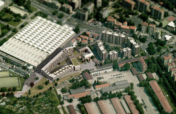 Progetto per via Cenni - Milano