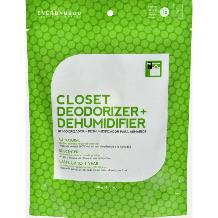 Ever Bamboo Closet Deodorizer And Dehumidifier - 4.6 Oz