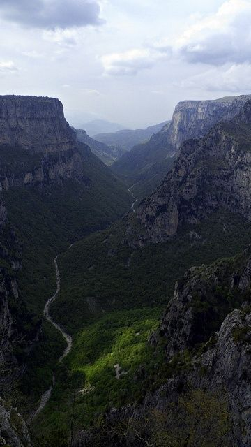 Greece, Vikos Gorge