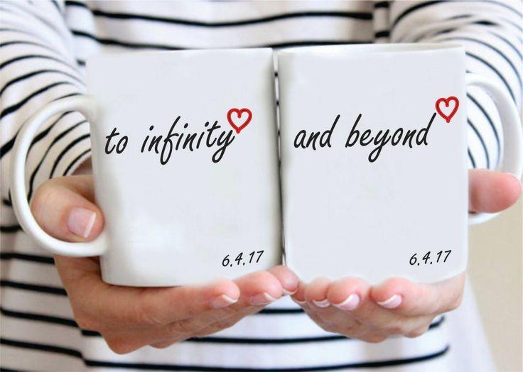 To Infinity And Beyond Mug,Valentines Mug,Custom Valentine,Toy Story Mug,Wedding Mug,Couples Mug,Custom Wedding Mug,Valentines Gift by BushelOfLove on Etsy