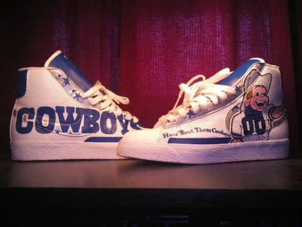The Best Dallas Cowboys Custom Shoes #dallas #dallascowboys #nfl #football  #gameday