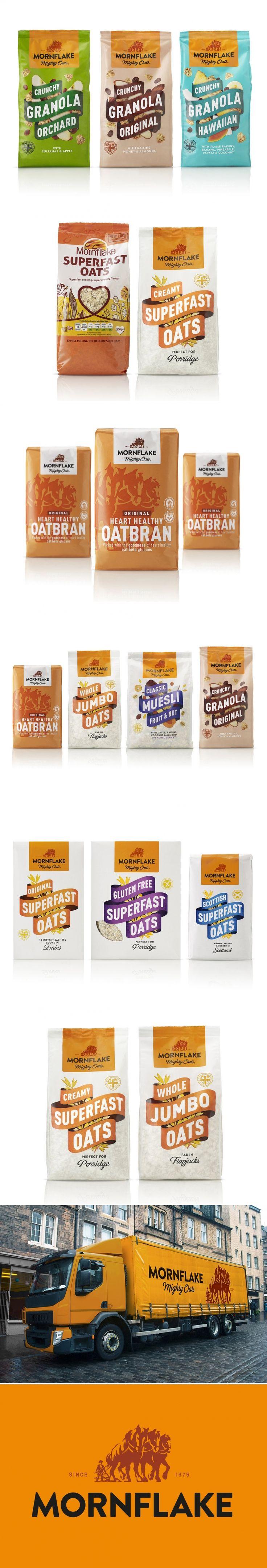 British Favorite Mornflake Gets a Dynamic New Look — The Dieline   Packaging & Branding Design & Innovation News