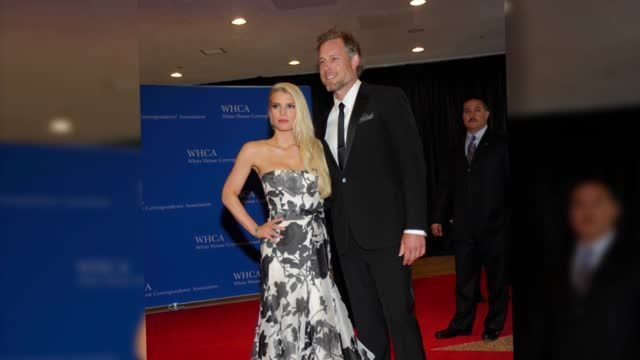 Jessica Simpson y Tony Romo se evitan el uno al otro en la White House Correspondent's Dinner