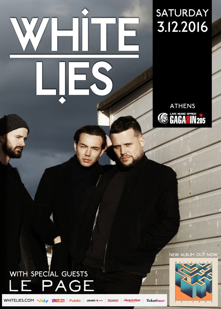 White Lies live in Athens (2016)
