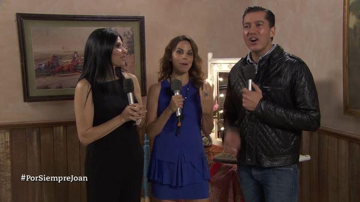 Raquel Garza y Alejandra Ambrosi hablan en entrevista con Jorge Ugalde sobre sus personajes en la serie de Por siempre Joan Sebastian