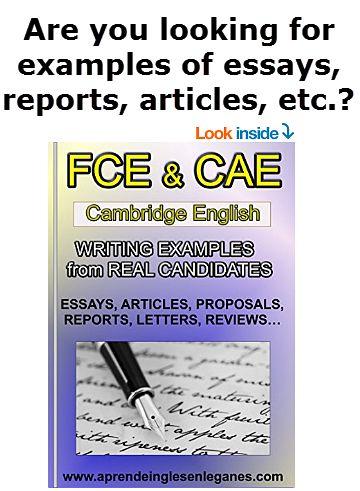 ejemplo writing essay