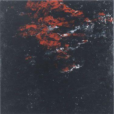 Armando Landschaft 6-2-01 Olie op doek 200 x 200 cm