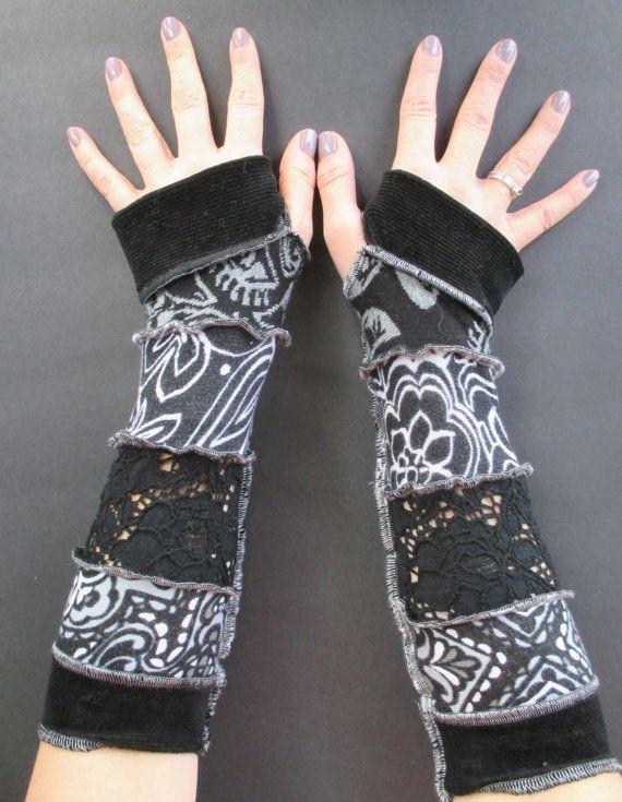 Vingerloze handschoenen Arm Warmers zigeuner door ThankfulRose