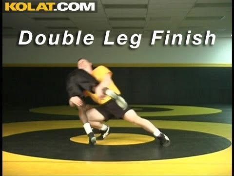 Double Leg Takedown KOLAT.COM Wrestling Moves Techniques Instruction