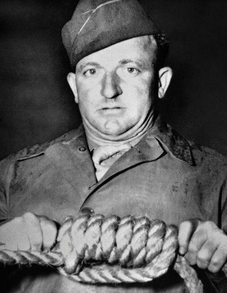 Der Henker von Nürnberg:  Der texanische Master Sergeant John Clarence Woods...