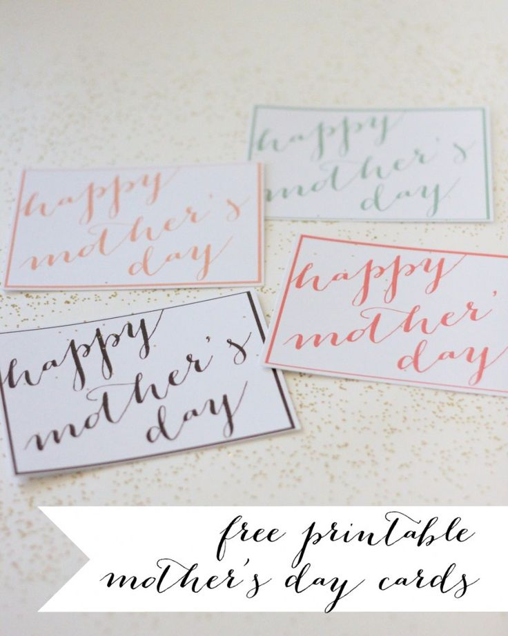 free printable mother's day cards | Celebrate : Mother's ...