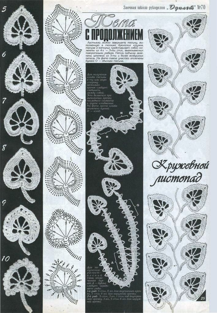 folhas+crochê+russo+1.jpg (708×1020)