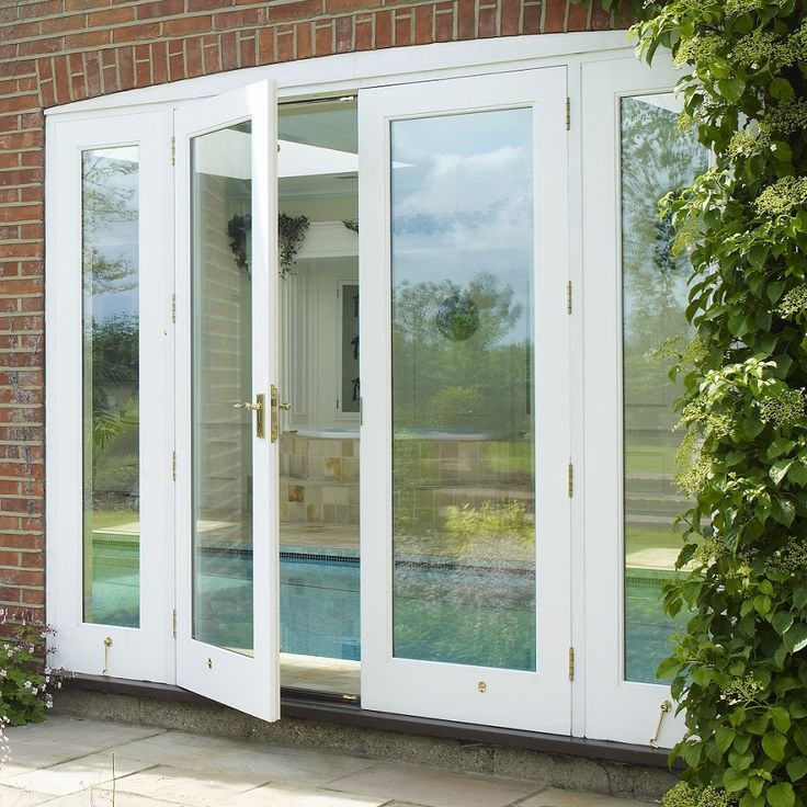 Timber Patio Doors Manufactured and Installed by The Sash Window Workshop
