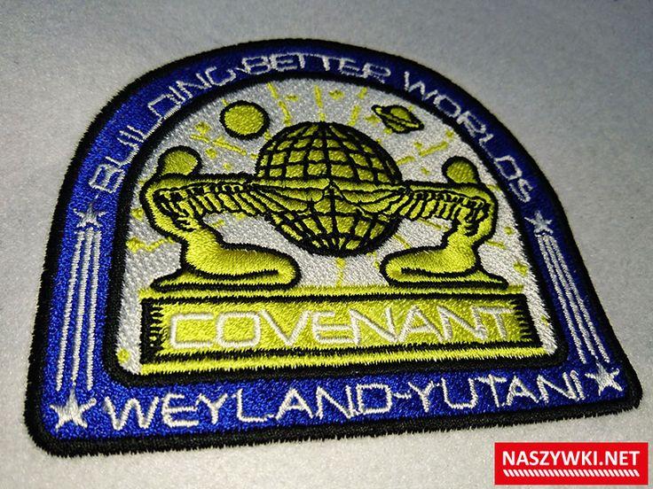 naszywka haftowana w całości  #Obcy  #alien #covenant #weyland yutani #przymierze