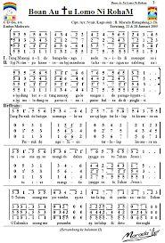 Hasil gambar untuk partitur paduan suara malam paskah