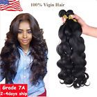 1 Bundles Brazilian Virgin Remy Hair Body Wave Human Hair Weave Extensions 100g #ad