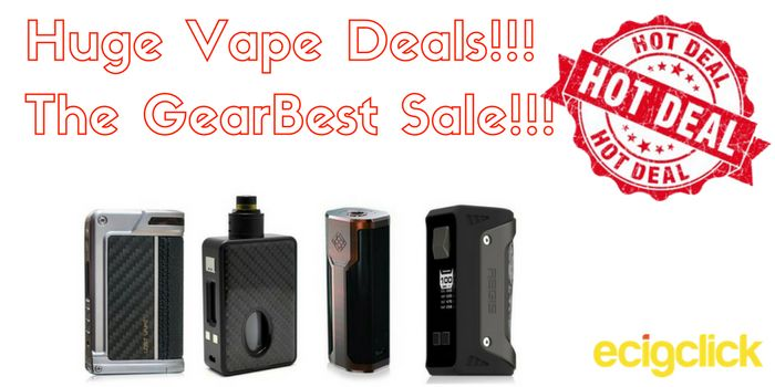 GearBest Vape Sale - prices slashed!!!