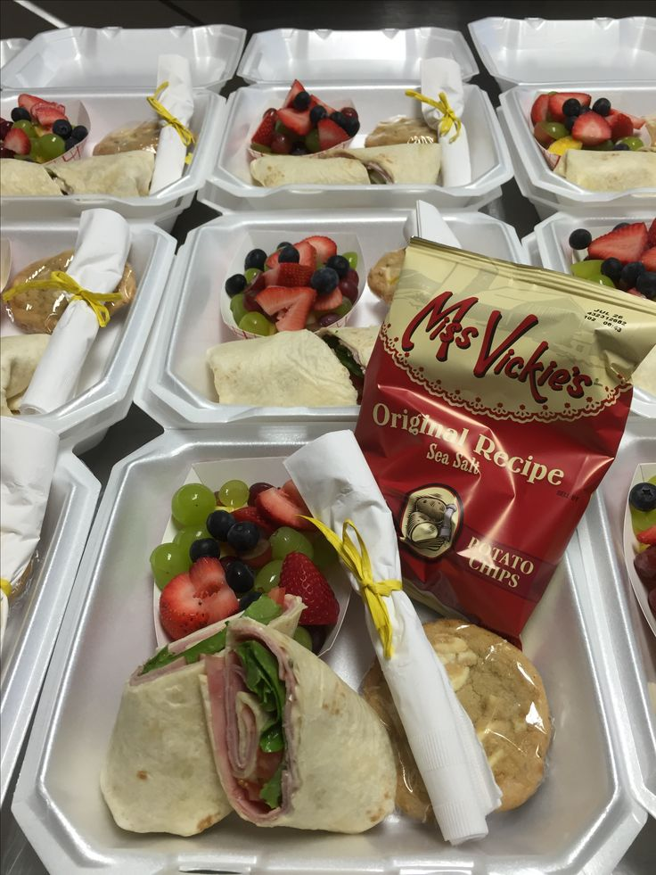 Gourmet Boxed Lunch - Catering by Debbi Covington - Beaufort, SC