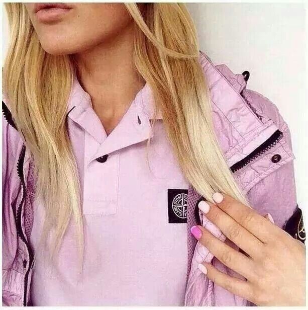 I am defo getting this jacket stone island + pink = dayuum