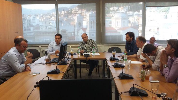 Συνάντηση Ν. Μηταράκη με τα μέλη του Τεχνικού Επιμελητηρίου στη Λαμία - http://goo.gl/9GHOYL