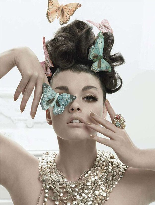 A Stunning Tribute To Butterflies, Fashion &…   Bit Rebels