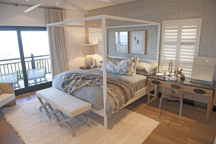 Michele Throssell Interiors > main bedroom > neutral scheme > beach living
