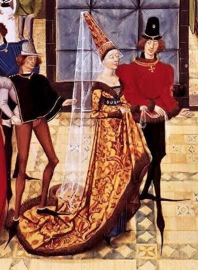 История костюма готический стиль в рисунках