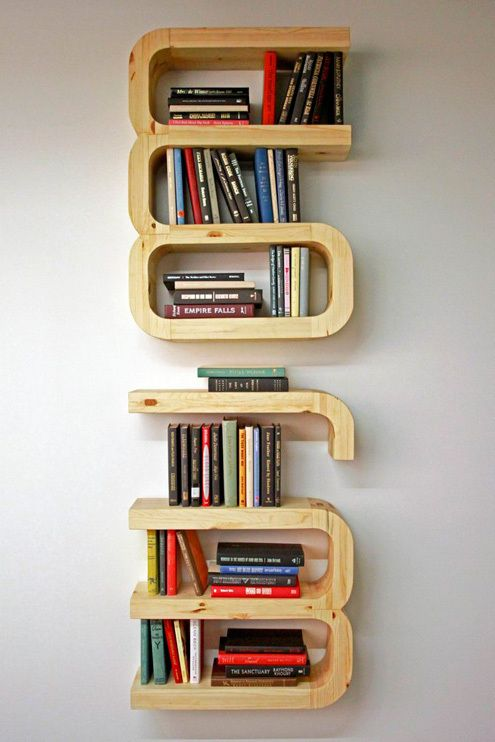 494 best Creative Bookshelves images on Pinterest Book shelves