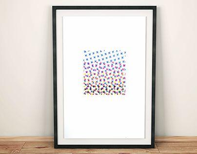 "Check out new work on my @Behance portfolio: ""Cross Stitch CMYK"" http://on.be.net/1HZ7sm6"