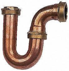 Copper Sink Trap New Unused As Shown Lovely  £25 ebay