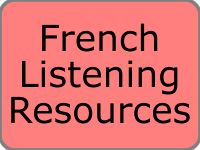 Free French Listening Resources Podcast  Video clips and MP3 files on a variety of topics.