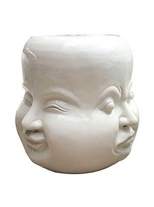 60% OFF Asian Art Imports Four Faces Stool
