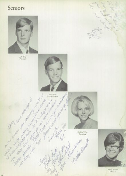1968 Alta Loma High School Yearbook via Classmates.com