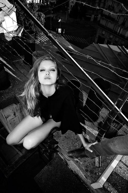Lindsey Wixson by Olivier Zahm