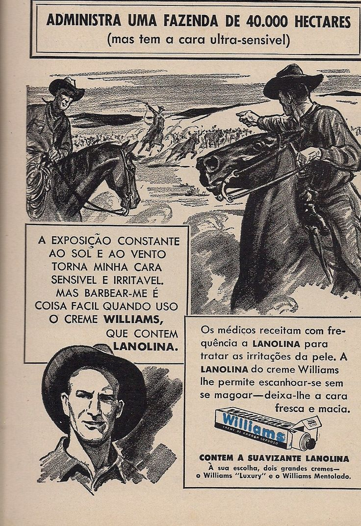 Creme de Barbear Williams #anos40 #40s #vintage