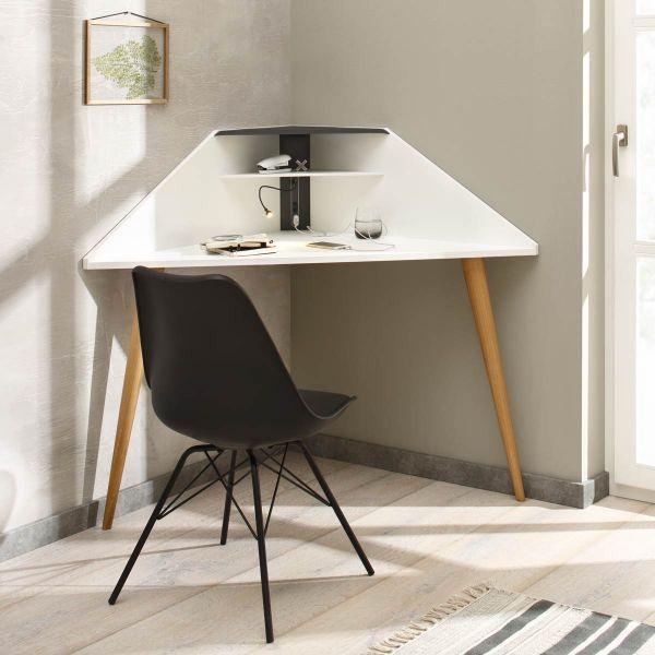 Die besten 25+ Eckschreibtisch Ideen auf Pinterest Home office - buro mobel praktisch organisieren platz sparen