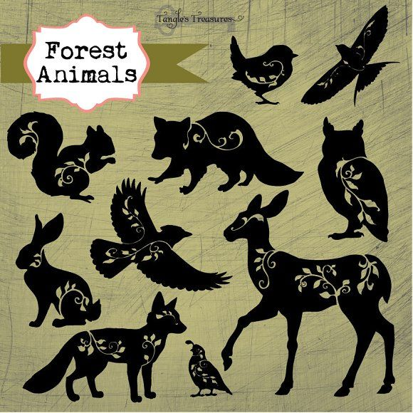 Forest Animals by Verdigris Studios on @creativemarket
