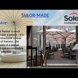 Cantilever parasols | solero parasols | Cantilever parasols are parasols which have a mast on the side of the parasol. In most cases, this is the flat side. Visit Us:- http://soleroparasols.co.uk/